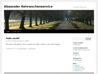 Alexander-kehrwochenservice.de
