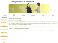 alphaspur.de