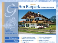 am-kurpark-reindl.de Webseite Vorschau