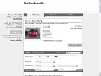 amadoautomobile.de Webseite Vorschau