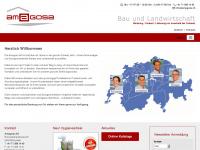 amagosa.ch Webseite Vorschau
