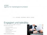 amako.ch Webseite Vorschau