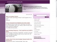 amateurfunklehrgang.de Webseite Vorschau
