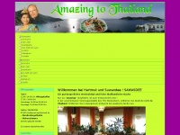 amazing2thailand.de Webseite Vorschau