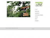 amazonias.de Webseite Vorschau