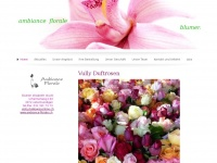 ambiance-florale.ch Webseite Vorschau