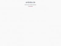 ambidex.de Webseite Vorschau