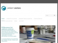 ambient-solutions.de Webseite Vorschau