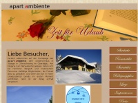 ambiente-ofterschwang.de Webseite Vorschau
