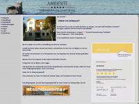 ambiente-urlaub.de Webseite Vorschau