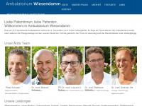 ambu-wiesendamm.ch Webseite Vorschau