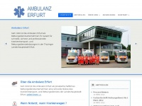 ambulanz-erfurt.de