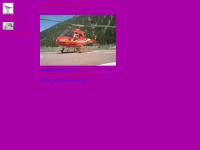 ambulanzhubschrauber.de Webseite Vorschau