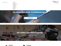 ambulanz-schroers.de Webseite Vorschau