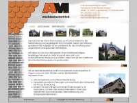 amdach.de Webseite Vorschau