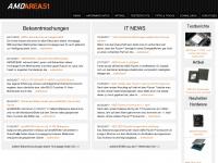 amdarea51.de Webseite Vorschau