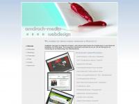 amdrach-media.de Webseite Vorschau