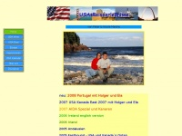 amerika1.de Webseite Vorschau