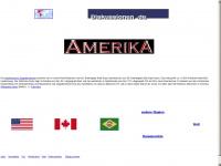 amerika-web.de Webseite Vorschau