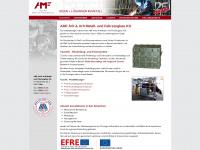 amfkg.de Webseite Vorschau