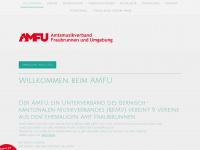 amfu.ch Webseite Vorschau