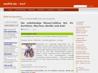 amf24.de Webseite Vorschau