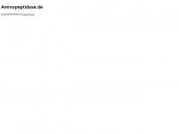 aminopeptidase.de Webseite Vorschau