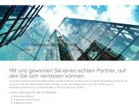 amk-personal.de Webseite Vorschau