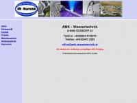 amk-wassertechnik.at Webseite Vorschau