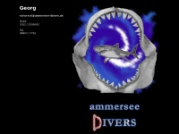 ammersee-divers.de Webseite Vorschau