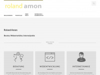 amon.de Webseite Vorschau