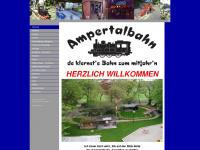 ampertalbahn.de Webseite Vorschau
