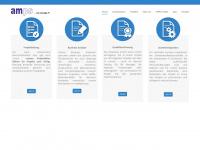 amps.ch Webseite Vorschau