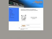 amptec.ch Webseite Vorschau