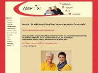 amptist.de Webseite Vorschau