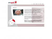 ampuls-kommunikation.de Webseite Vorschau