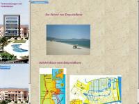 ampuriabrava-ferienhaeuser.de Webseite Vorschau