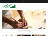 amrein-schreinerei.ch Webseite Vorschau