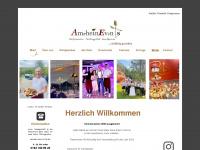 amrheinevents.de Webseite Vorschau