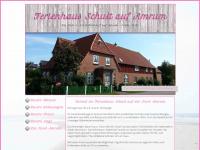 amrum-ferienhaus-schult.de Webseite Vorschau