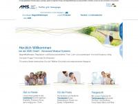 ams-onlineshop.de Webseite Vorschau