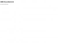 ams-soundtechnik.ch Webseite Vorschau