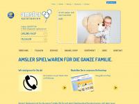 amsler-spielwaren.ch Webseite Vorschau