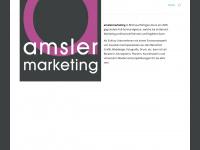 amslermarketing.ch Webseite Vorschau