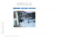 amsula.ch Webseite Vorschau