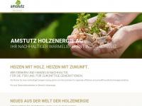 amstutzholzenergie.ch Webseite Vorschau