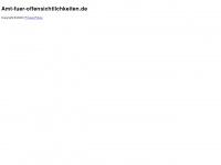 amt-fuer-offensichtlichkeiten.de Webseite Vorschau