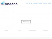 andona.de Webseite Vorschau