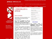 aproz-immobilier.ch
