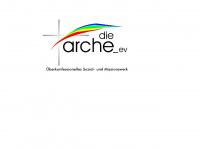 arche-hinterland.de Webseite Vorschau